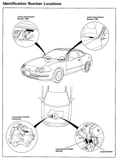 Acura Integra 1996 1997 Hatchback Service Manual Car Service on 1994 Acura Integra Manual