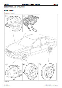 Ford Falcon 2003 - Service Manual Download - Workshop Service Manual