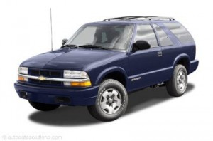 Service Repair Manual Chevrolet Blazer 1996 1997 1998 1999 2000 2001 2002 2003