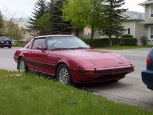 1985 MAZDA RX-7 Technical Workshop Service Repair Manual