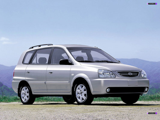 2002-2006 Kia Carens Car Workshop Service Repair Manual 2003 2004 2005 - Specifications