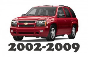 2002-2009 Chevrolet Trailblazer Service Repair Workshop Manual DOWNLOAD 2002 2003 2004 2005 2006 2007 2008 2009