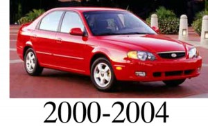 Kia Spectra 2000 2001 2002 2003 2004 Workshop Service Repair Manual - Mechanical