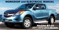 Mazda BT50 Diesel 2011 2012 2013 – Workshop Service Repair Manual