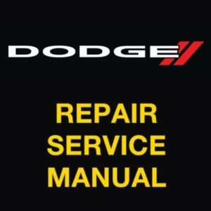 dodge nitro repair manual free download