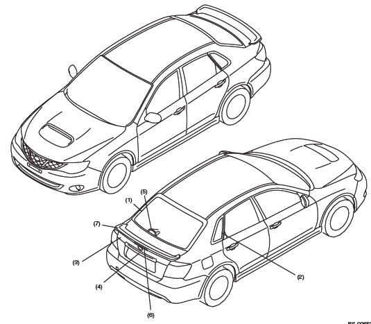 2009 Subaru Impreza Transmission: Subaru Impreza 2006 Wrx Sti
