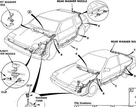Honda Accord 1986 Service Manual