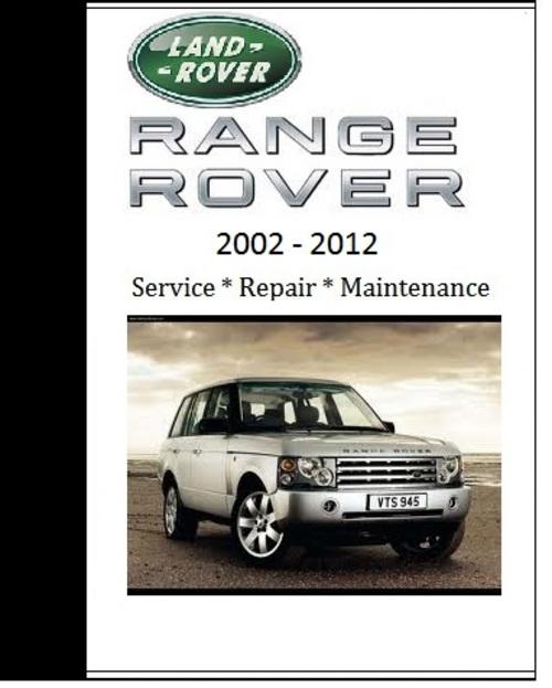Land Rover Range Rover 2008 2009 2010 Repair Workshop
