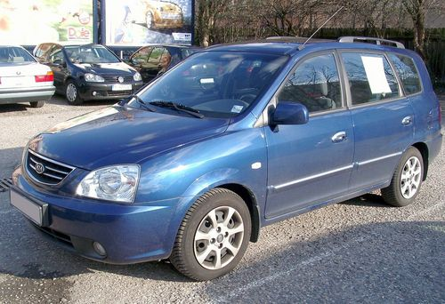 Kia Carens Rondo 2003 2005 2007 2009 Technical Workshop