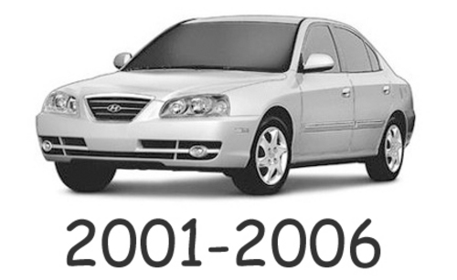 Hyundai Elantra 2001 2002 2003 2004 2005 2006 Workshop