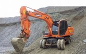 Daewoo Doosan DX140W DX160W Wheel Excavator Workshop Service Repair Manual
