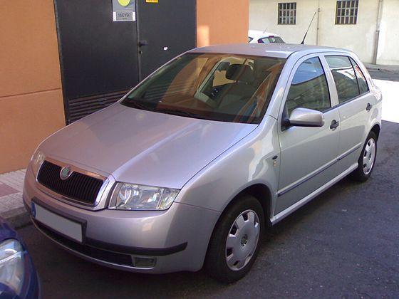 Skoda Fabia Mk1 1999